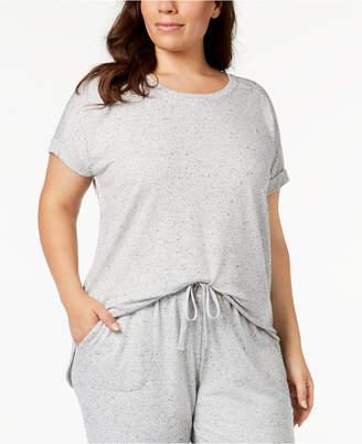 Alfani Plus Size Solid Pajama Top, Created for Macy's