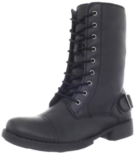 Skechers Women's Leverages-Pull Rank Lace-Up Boot