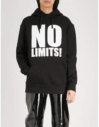 Gareth Pugh No Limits cotton-jersey sweatshirt