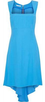 Antonio Berardi Asymmetric Crepe Mini Dress
