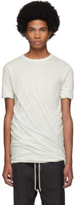 Rick Owens White Double T-Shirt