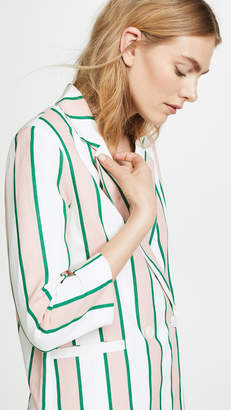 ENGLISH FACTORY Striped Blazer