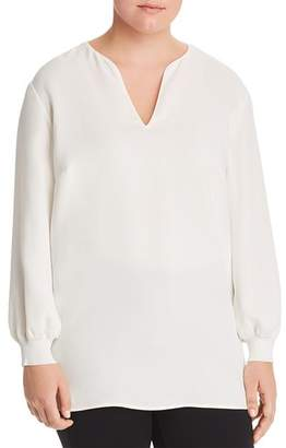 Lafayette 148 New York Plus Roxy Silk Blouse
