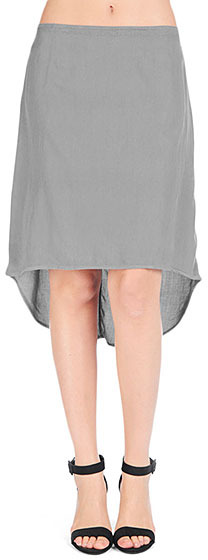 AG Jeans The Hi-Low Skirt - Charcoal