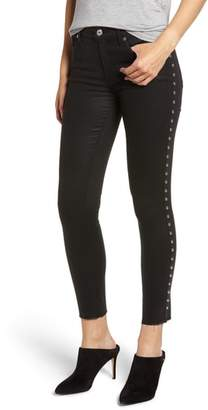 7 For All Mankind Side Stud Ankle Skinny Jeans