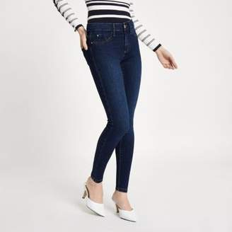 River Island Petite mid blue Molly jeggings