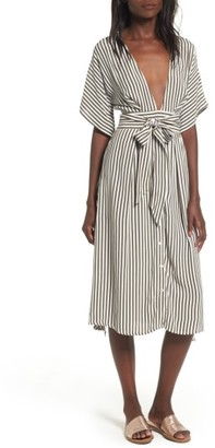 Women's Faithfull The Brand Mustang Midi Dress $159 thestylecure.com