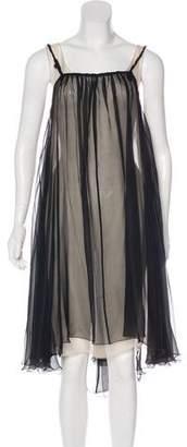 Max Mara Silk Dress Set