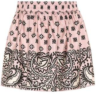 RED Valentino Bandana-print skirt