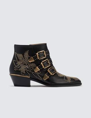 Chloé Susanna Studded Leather Ankle Boot