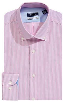 Izod Slim-Fit Striped Dress Shirt