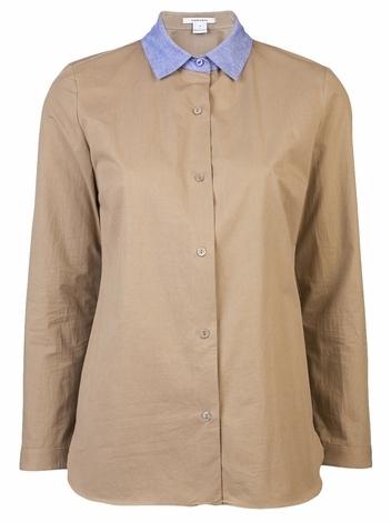 Carven Contrast Collar Shirt