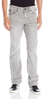 True Religion Men's Ricky Relaxed Straight with Flap Heritage Corduroy Pant