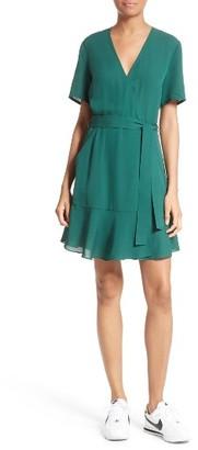 Women's A.l.c. Micah Silk Wrap Dress $495 thestylecure.com