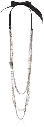 Lanvin Long Multi Strand Necklace