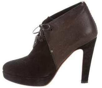 Rag & Bone Bicolor Platform Booties