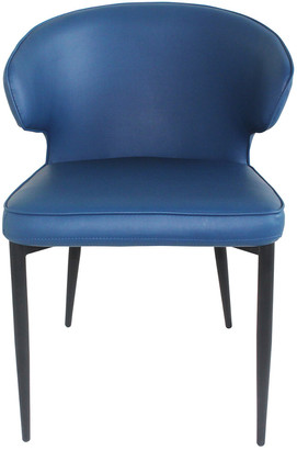 Moe's Home Collection Set Of 2 Decca Dining Chair Blue