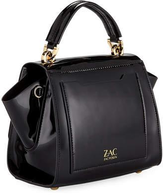 Zac Posen Eartha Shiny Patent Crossbody Bag