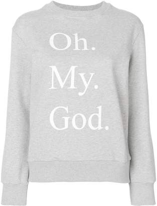 Peter Jensen Oh My God sweatshirt
