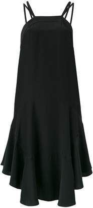 Barbara Bui open back ruffle dress