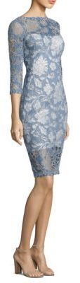Tadashi Shoji Embroidered Lace Dress $390 thestylecure.com