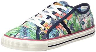 Wrangler Boys' Starry Low Low-Top Sneakers Multicolour Size: