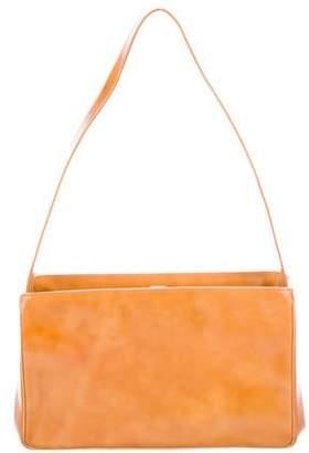 Prada Spazzolato Frame Bag