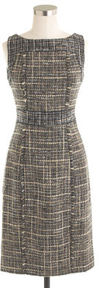 J.Crew Pepper tweed dress