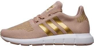adidas Junior Girls Swift Run Trainers Ash Pearl Gold Metallic Footwear  White e335d6d1b