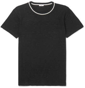 Eidos Highlands Contrast-Tipped Cotton T-Shirt