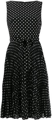 Lauren Ralph Lauren dotted print day dress