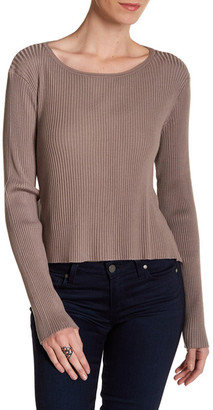 Cullen Flounce Back Rib Pullover $213.60 thestylecure.com