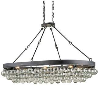 Currey and Company Balthazar Oval Ceiling Mount27