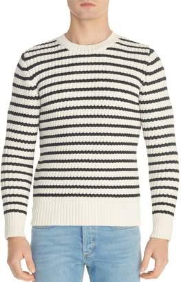 Sandro Sailor Striped Crewneck Sweater