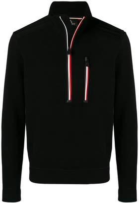 Moncler high neck sweatshirt