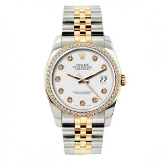 Rolex Vintage Datejust 36mm White gold and steel Watches
