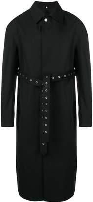 MACKINTOSH 1017 ALYX 9SM black bonded wool formal coat