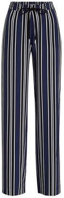 Markus Lupfer Agnes Striped Cotton Pants