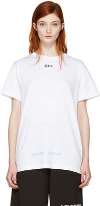 Off-White Black Care 'Off' T-Shirt $310 thestylecure.com