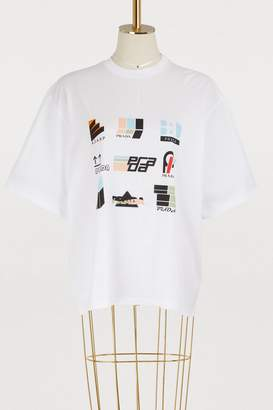 Prada Sticker Oma oversized T-shirt