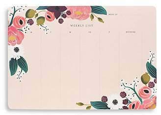 Rifle Paper Co. Floral Weekly Desk Pad