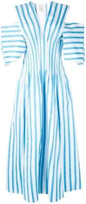 Maison Rabih Kayrouz stripe V-neck dress