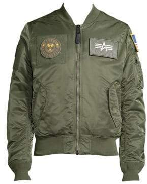 Alpha Industries Slim-Fit Bomber Jacket