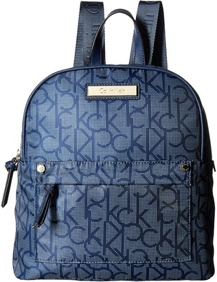 Calvin Klein Nylon Backpack $158 thestylecure.com