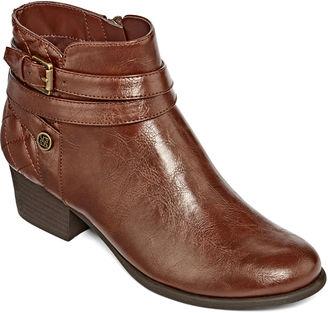 LIZ CLAIBORNE Liz Claiborne Posh Ankle Booties $100 thestylecure.com