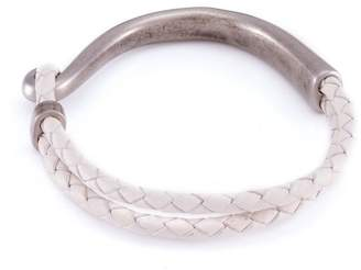 März The Cream Hook Leather Bracelet