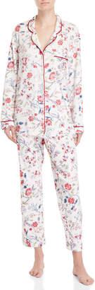 Karen Neuburger Two-Piece Printed Pajama Set