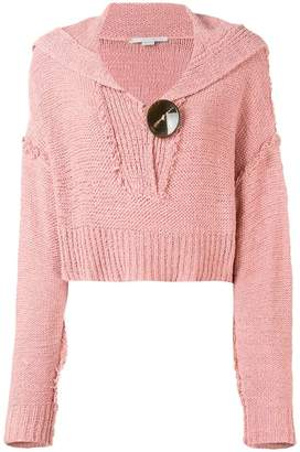 Stella McCartney cropped knit jumper