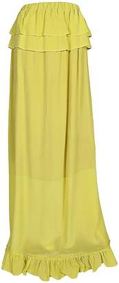 Semi-Couture Semicouture Ruffle Detail Skirt