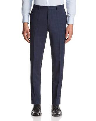 HUGO Hets Slim Fit Tonal Plaid with Windowpane Suit Pants